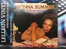 Donna Summer I Remember Yesterday LP Album Vinyl Record GTLP025 Pop 70's Disco