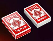 Mini Supreme Bicycle Playing Cards (1 Package per order)