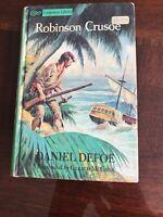 Grosset & Dunlap, NY ~ ROBINSON CRUSOE by Daniel Defoe ~1963 ~