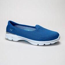 Zapatos planos de mujer Skechers color principal azul