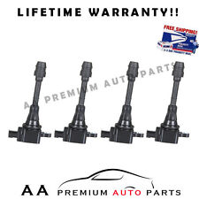 PACK OF 4 IGNITION COILS FOR NISSAN SENTRA ALTIMA 2.5L