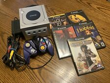 Nintendo GameCube Platinum Silver Console Lot w/ Games System Bundle