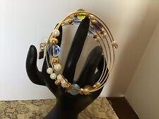 Lenox Shimmering Beads Coil Bracelet