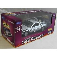 Welly Back to The Future Part 1 Delorean Time Machine 1 24 Scale Diecast Model