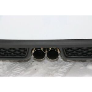 Fox Exhaust Smart Fortwo 451 Brabus Rear Apron 2x80mm Double Pipe Since 10/10