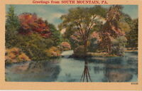 Postcard Greetings From South Mountain PA