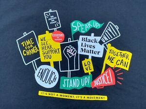 NEW Starbucks Employees Partners Black Lives Matter BLM Stand Together Shirt - M