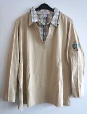 Camisa de mujer de color principal multicolor 100% algodón