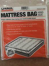 "Durable King Size Mattress Bag /Box Spring Cover 96"" x 78"" x 10"""