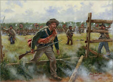 Mark Maritato Civil War CONFEDERATE SKIRMISH LINE Gettysburg Signed Giclée Print
