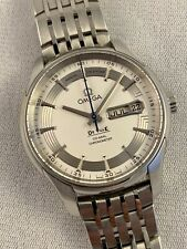 Omega De Ville Annual Calendar Automatic Chronometer Hour Vision Watch