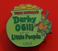 Walt Disney Enamel Pin Badge Darby O'Gill & The Little People Millennium #84