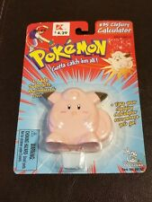 New Sealed 1999 Pokemon #35 Clefairy Calculator Toy Island