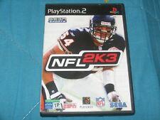NFL 2K3 / PlayStation 2 - Pal Italia DVD ROM