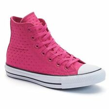 Women's Converse Chuck Taylor All Star Neoprene Pink High-Top Sneakers - Size:10
