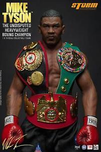 Mike Tyson Autographed Storm 1/6 Figure Heavyweight Champion PSA/DNA COA