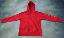 Vintage Supreme Men's Red Hoodie Jacket Size L___PLEASE READ.