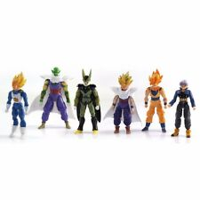 DragonBall Z DBZ GOKU TRUNKS Vegeta Piccolo Figurines Lot de 6pc Joint Movable