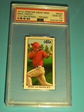 MIKE TROUT RC 2010 TRISTAR OBAK MINI 31ST NATIONAL PROMO GEM MINT PSA10! ANGELS