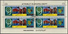 YEMEN 1970 EUROPA CEPT CTO utilisé full complet Feuille #V5692