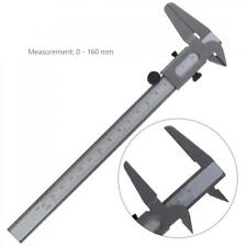 """6""""/150mm Vernier Caliper Gauge Micrometer Carbon Steel Measuring Tool Silver"""