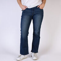 Levi's 529 Curvy Bootcut Damen Blau Jeans DE 38 / W31 L30