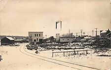 Real Photo Postcard Cooperage Plant in Blackduck, Minnesota~113295