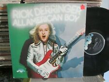 Rick Derringer Lp All America Boy w JOE WALSH Edgar Winter David Bromberg