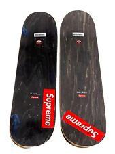Supreme Distorted Logo Skateboard Deck Set
