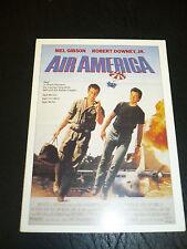 AIR AMERICA, film card [Mel Gibson, Robert Downey Jr]