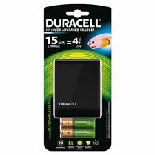 Duracell Battery Charger Hi-Speed 15 min + AA and AAA Rechargeable Battery CEF27