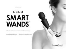 Lelo Smart Wand Large Brand New Original Sealed Packaging Black w charger