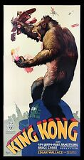 KING KONG * CineMasterpieces S2 MOVIE POSTER 3 SHEET RECREATION LTD EDITION 1997