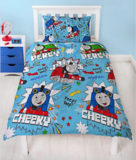 Single Bed Duvet Cover Set Thomas The Tank Engine Trains Percy James