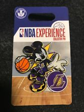 Disney Pin DS Mickey Mouse NBA Experience Los Angeles Lakers NEW