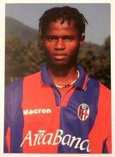 Cartolina Bologna Calcio 2001-02 Momoh Bangura