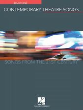 Contemporary Theatre Songs Baritone Songs from the 21st Century Vocal 000191895