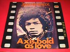 Jimi Hendrix   Axis Bold as Love Holland reissue  w/ VHTF Filmstrip cover