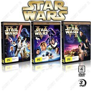 Star Wars Empire Strikes Back  + Return Of The Jedi + A New Hope : Brand New DVD