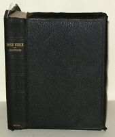 The Holy Bible - Old & New Testaments- Oxford Uni Press - Leather- Brevier 16mo