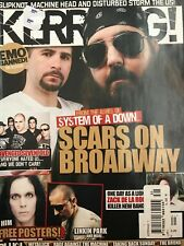 Scars on Broadway Kerrang! Magazine Issue No. 1221 02/08/08 2008 RARE BRAND NEW