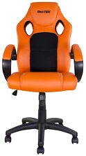 NEW BIKETEK KTM ORANGE OFFICE GARAGE MOTOCROSS MX ENDURO RACE TEAM RIDER CHAIR