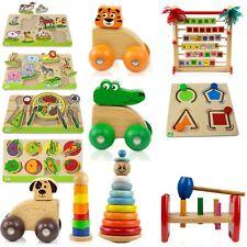 Kinderspielzeug ab 1 Jahr Holz Spuckefest verschiedene Motive Kinder Spielzeug