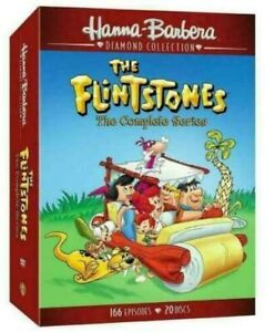 THE FLINTSTONES THE COMPLETE SERIES 1 2 3 4 5 & 6 DVD BOX SET R4