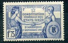 STAMP / TIMBRE FRANCE NEUF N° 357 * CONSTITITION DES ETATS UNIS