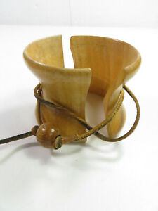 Chemex Wood Collar and Leather ONLY Tie for All Units Except Pint Model