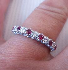 Anniversary Eternity VVS1 Fine Diamond Rings