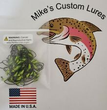 Candy Yellow Jig Heads  Hook Size #6 Wt.1/64oz, 25ct pack