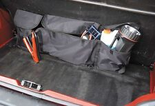 Car Boot Organiser Autocare - Black 3 Pocket Car Tidy Interior Storage Universal