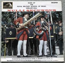 KNELLER HALL SCHOOL OF MUSIC - NULLI SECUNDUS - EMI CLP1730 - LP RECORD